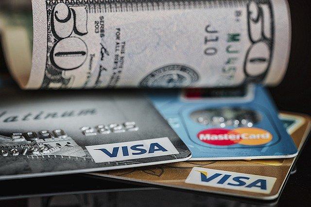 Es gibt verschiedene Kreditkarten-Arten